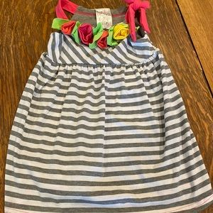 New Freckles & Kitty striped dress size 4